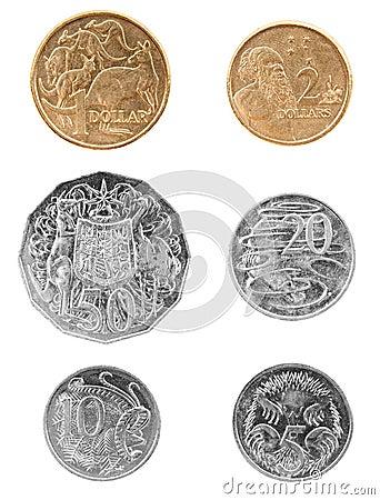 Australiensiska mynt