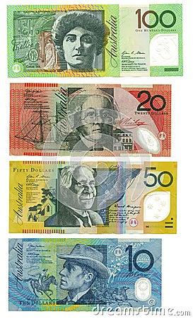 Australijscy banknoty