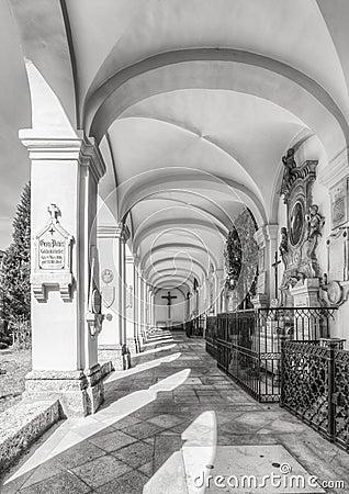 Free AUSTRIA, SALZBURG. Tourist Attractions On The Old Salzburg Cemetery, Austria Stock Photos - 67902353