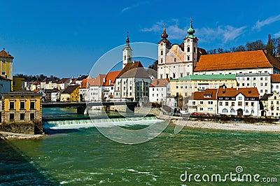 Austria, steyr, old town