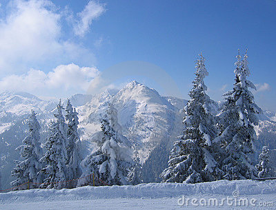 Austria / Winter scene