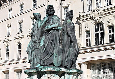 Austriabrunnen fountain, Vienna