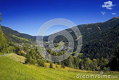 Austrian Alp Valley Bad Kleinkirchheim