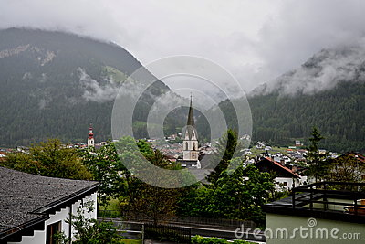Austrian Alps-city Pfunds