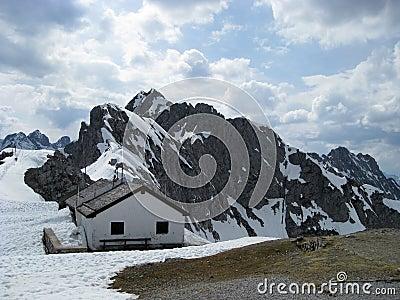 Austrian alps near Innsbruck