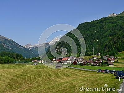 Austria-outlook from Zederhaus