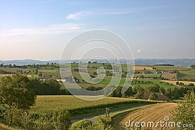 Austrian countryside around Strengberg