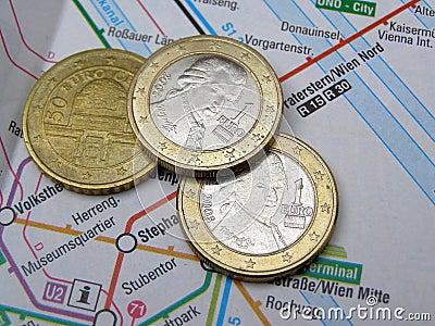 Austrian euro coins