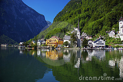 Austrian Lake of Millstatt