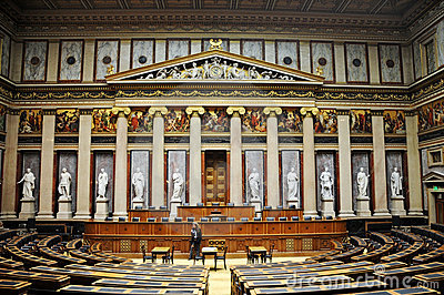 Austrian Parliament Editorial Photography