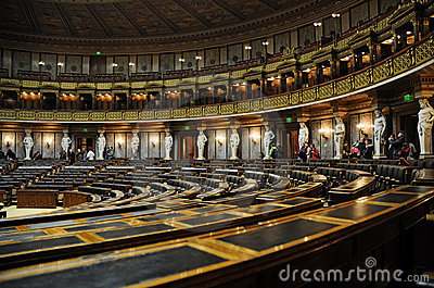 Austrian Parliament Editorial Stock Image