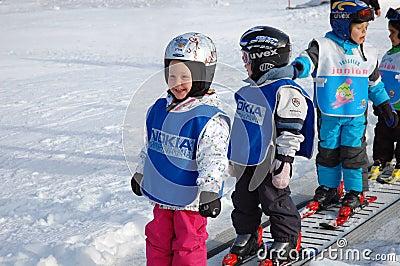 Austrian Ski school Editorial Image