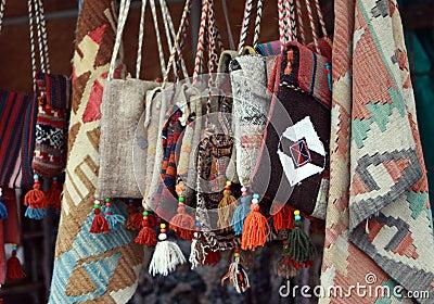 Authentic bag in Harput.