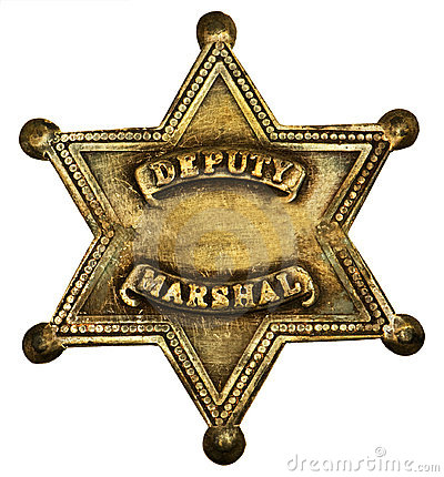 Authentic Deputy Marshall Badge