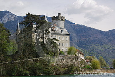 Authentic french castle