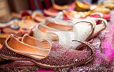 Authentic Iranian woman s shoes in Vakili bazaar