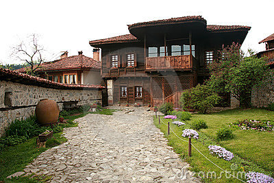 Authentic old bulgarian house