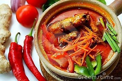 Authentic Prawn Curry