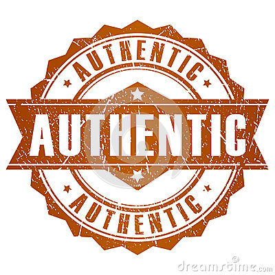 Free Authentic Vector Stamp Royalty Free Stock Image - 28858356