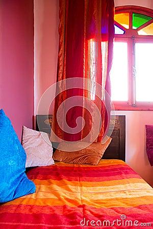 Marokkanische Dekoration Im Traditionellen Badezimmer Stockfoto ...