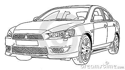 cars malen