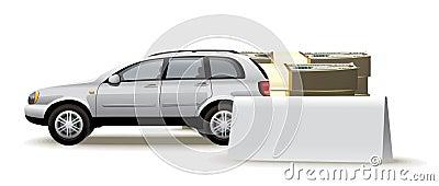 Auto blank