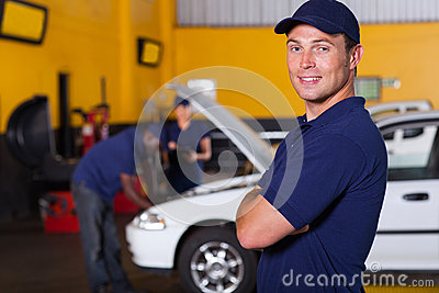Auto business owner