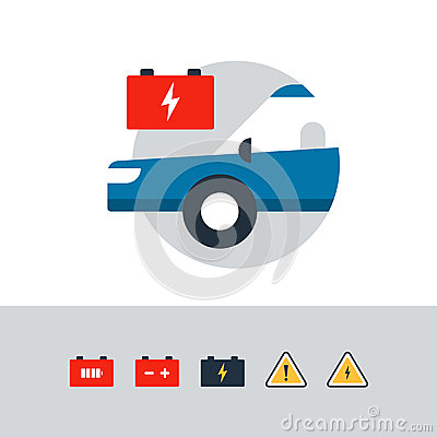 Free Auto Car Accumulator, Replacement Services, Electrical Failure, Battery Icon Stock Photography - 79916512