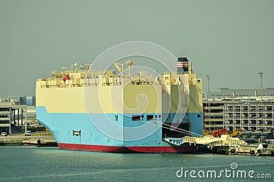 Auto car carrier ship