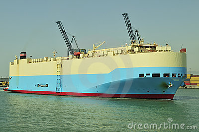 Auto car carrier ship