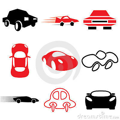 Auto and car icons