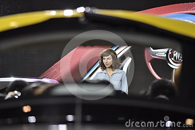 Auto China 2012 Editorial Stock Photo