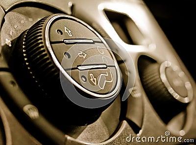 Auto climate control panel