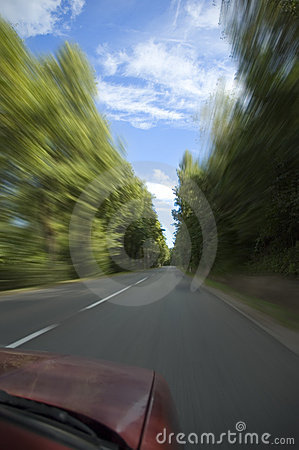 Auto die snel gaat