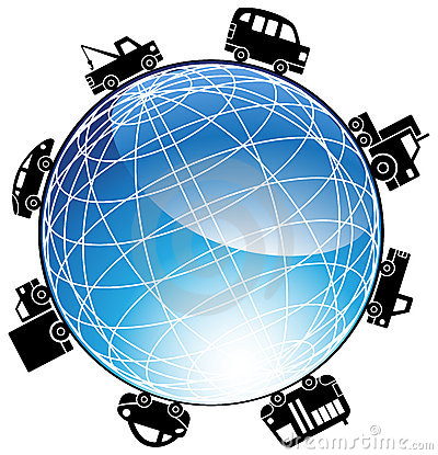 Auto Globe Icon