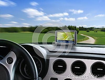 Auto gps navigator