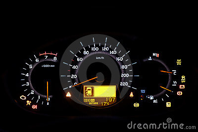 Auto indicator board