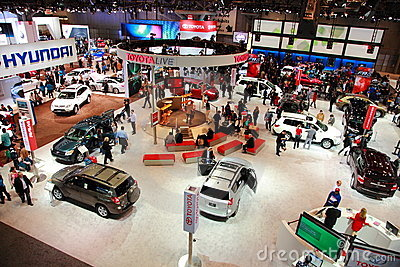 Auto Internationell Ny Show Arkivbild - Bild: 19304092
