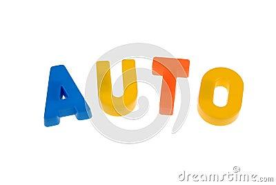 Auto letters