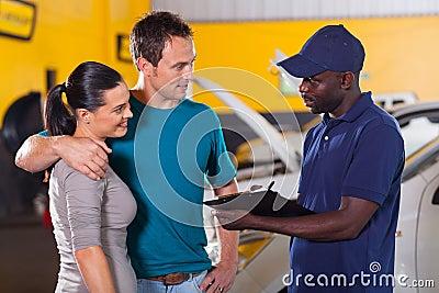 Auto mechanic couple