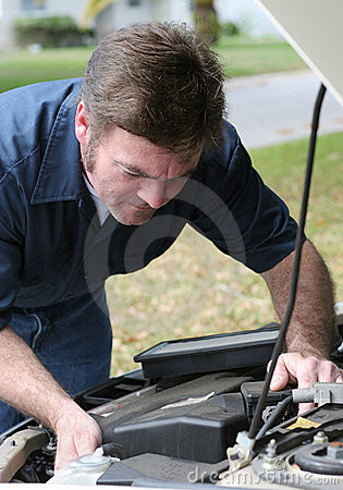 Auto Mechanic Under The Hood