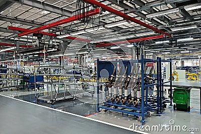 Auto parts plant