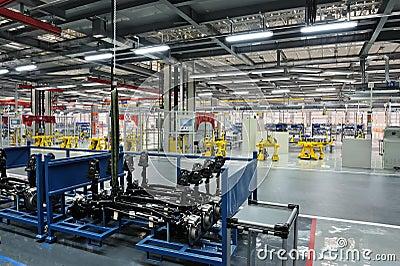 Auto parts plant Editorial Photo