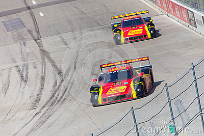 Auto Racing Editorial Stock Photo