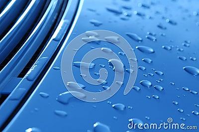 Auto raindrops