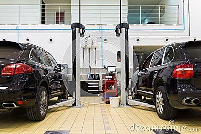 Auto repair service Editorial Photography