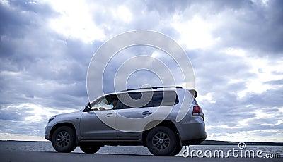 Auto on road