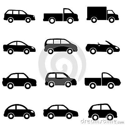 Auto s en vrachtwagens