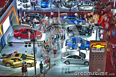 Auto Show Editorial Photo