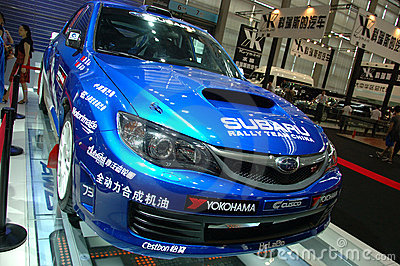 Auto Show in China, Shenzhen Editorial Photography